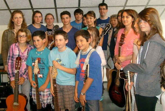 Audition de guitare et basse